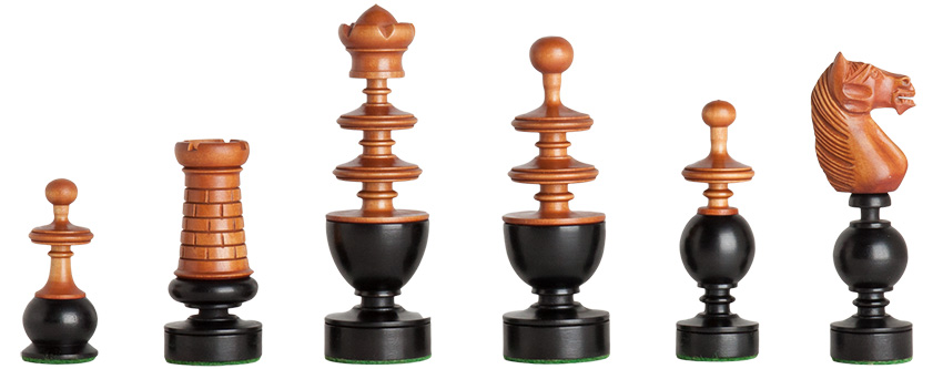 French Regence Chess Pieces