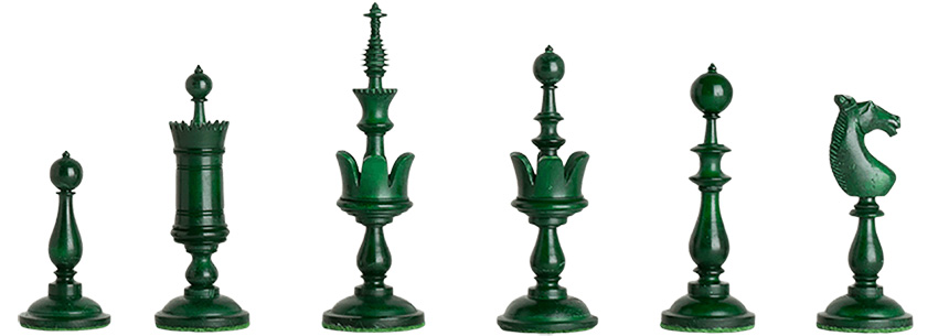 Selenus Chess Pieces